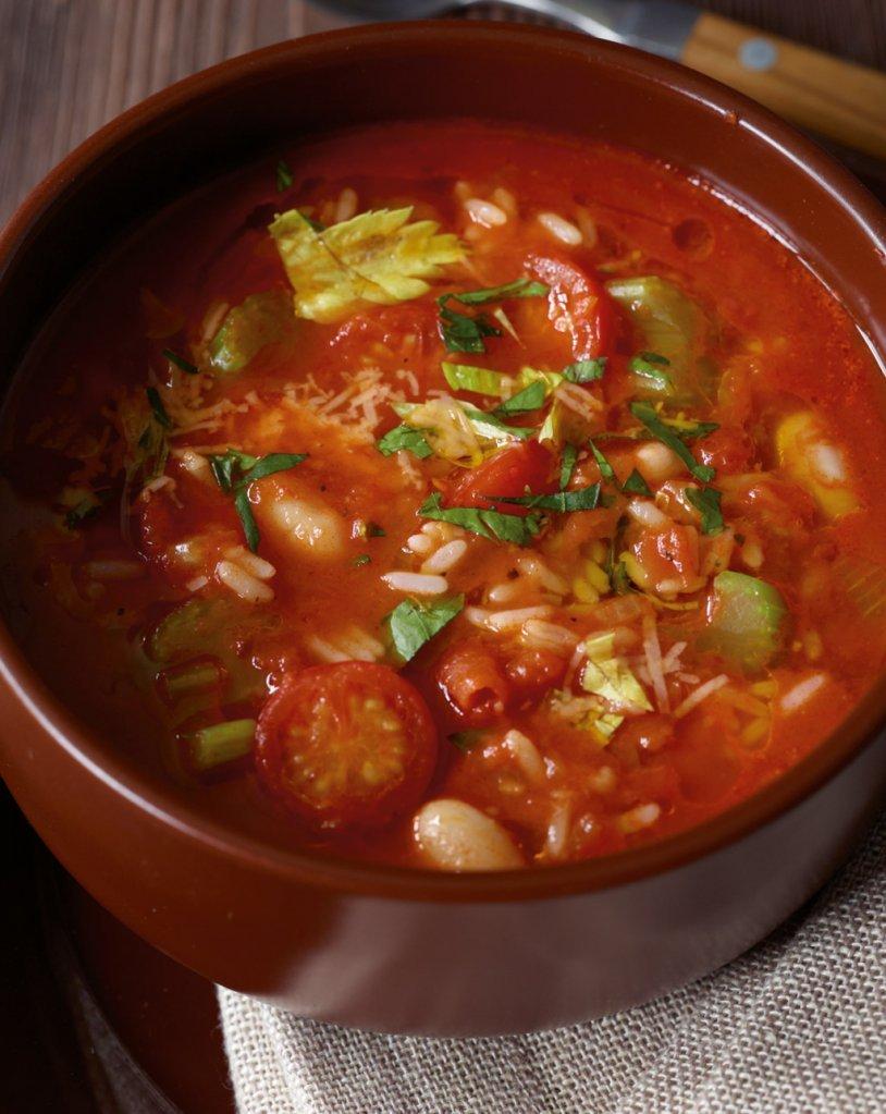 Зимна супа минестроне