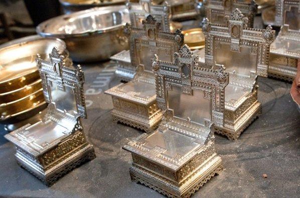 Работници намериха изчезнало съкровище в Санкт Петербург