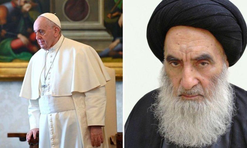Аятолах Систани ще посрещне папа Франциск в Ирак