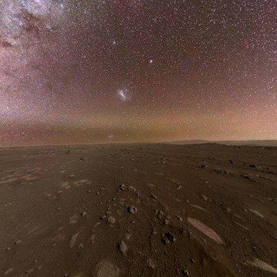 НАСА показа панорамна снимка, направена от Пърсивиърънс на Марс (ВИДЕО)