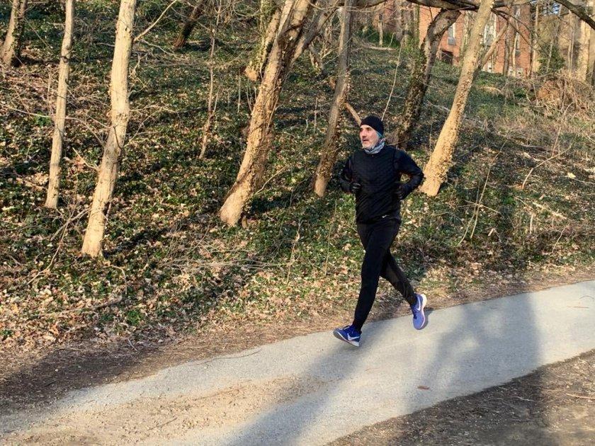 Цветанов се раздвижи в парка на Вашингтон