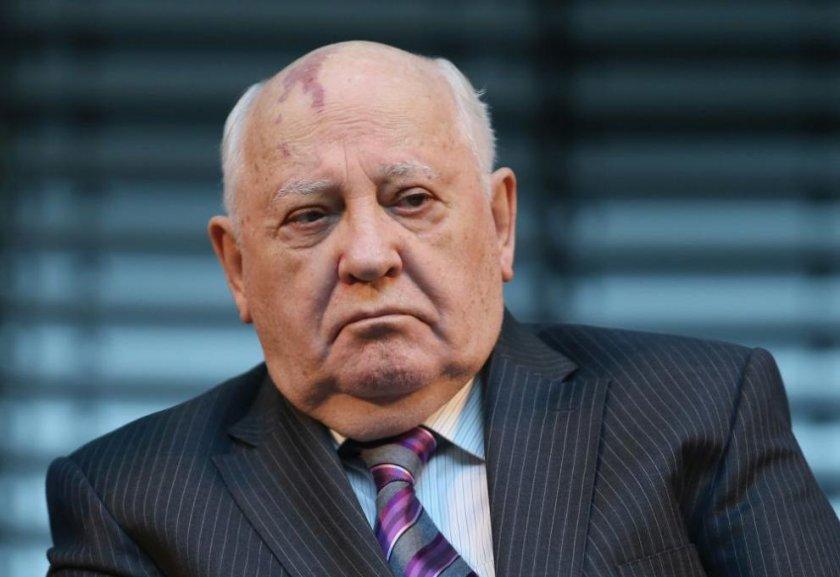 Михаил Горбачов: Наложително е Путин и Байдън да се срещнат