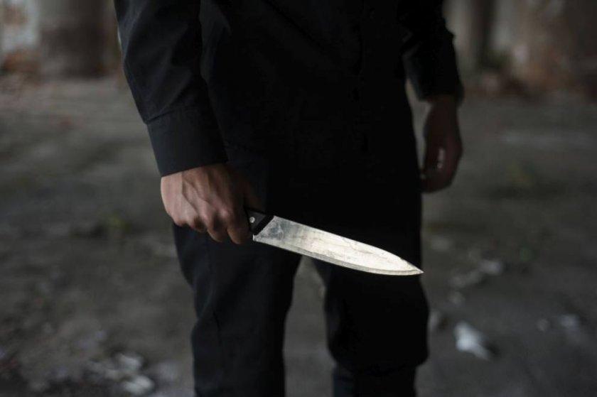 Гамен подгони ченге с нож