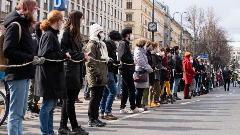 И България на протест срещу антипандемичните мерки
