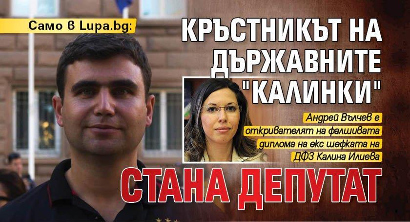 """Само в Lupa.bg: Кръстникът на държавните """"калинки"""" стана депутат"""
