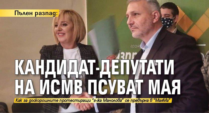Пълен разпад: Кандидат-депутати на ИСМВ псуват Мая