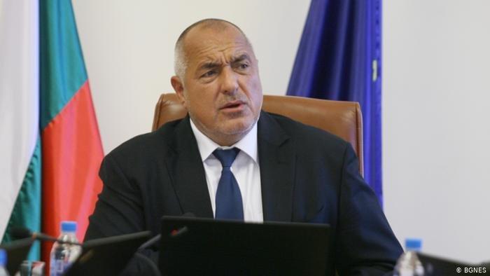 Новият парламент изслушва Борисов