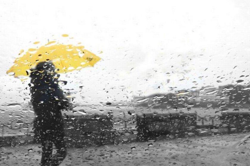 Дъжд на много места, най-студено - в София и в Монтана