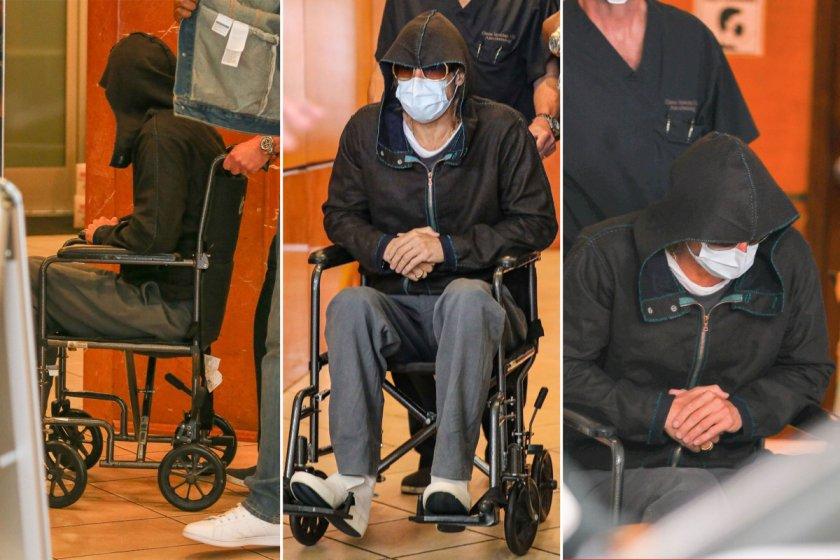 Брад Пит се тръшна в инвалидна количка