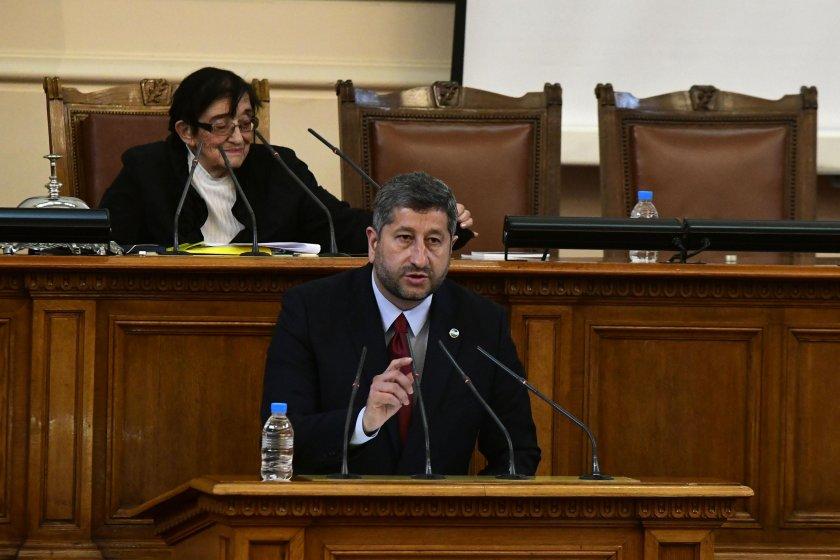 Христо Иванов: Ще настояваме бонусът за депутатите да отпадне