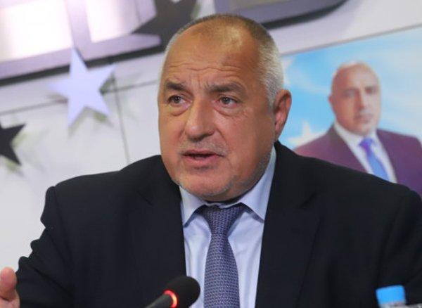 Бойко Борисов пред Националния съвет на ГЕРБ