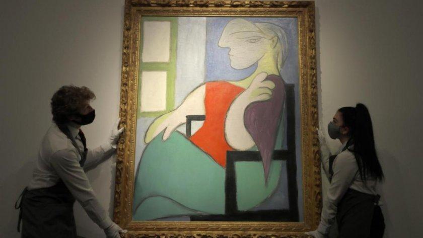 Картина на Пикасо се продаде за 103 млн. долара в Ню Йорк