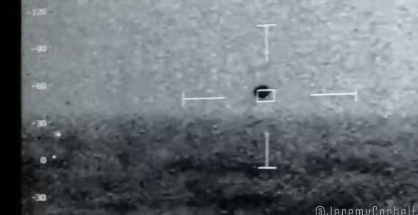 НЛО ескортира US кораб, после потъва в океана (ВИДЕО)