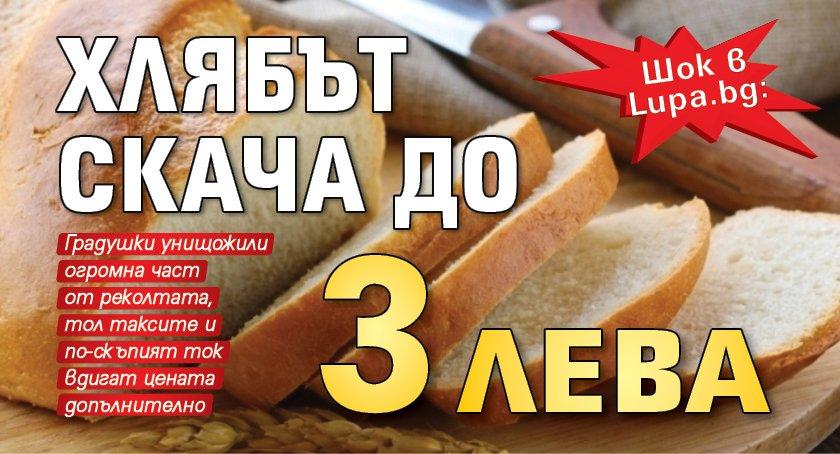 Шок в Lupa.bg: Хлябът скача до 3 лева
