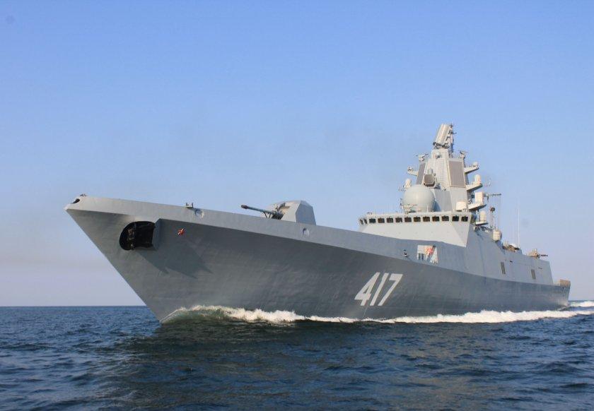 """Намигване от Русия: """"Адмирал Горшков"""" премина през """"задния двор"""" на САЩ"""