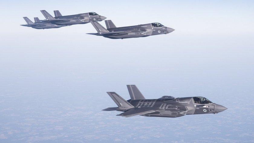 Англичаните се хвалят с първа мисия на Ф-35 в Ирак и Сирия