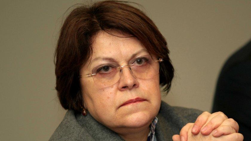 Татяна Дончева 'посъветва' Дългия да си мълчи повече
