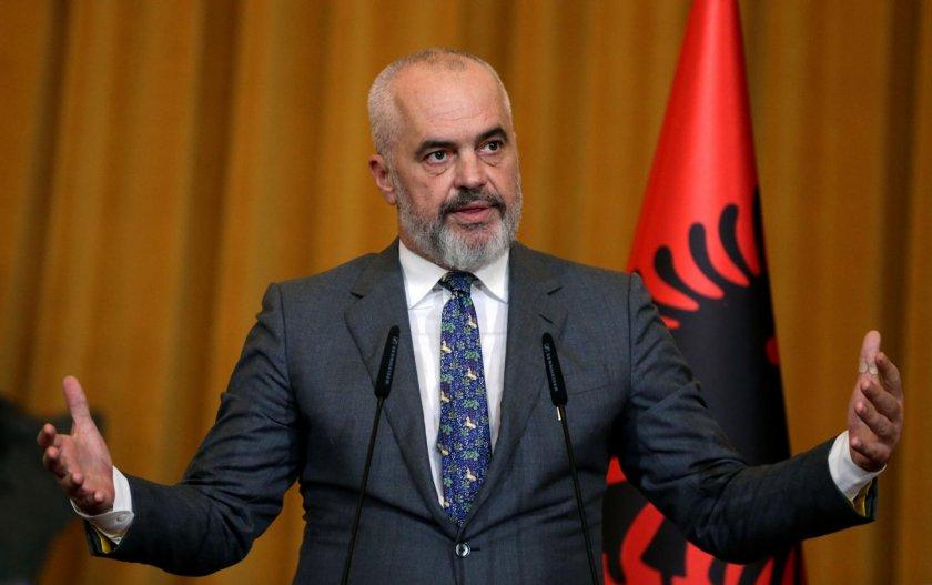 """Еди Рама: Идеята за """"Велика Албания"""" е пълна глупост, а """"Мини Шенген"""" е голяма работа"""