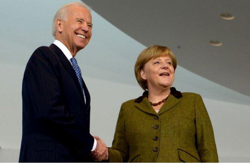 Меркел се среща с Байдън на 15 юли във Вашингтон