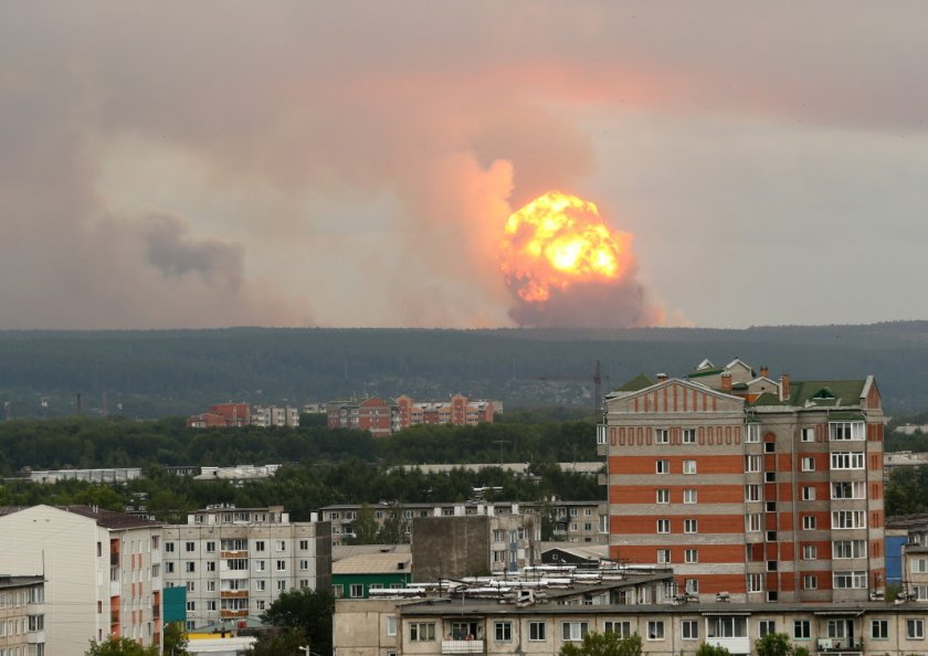 Взрив в склад за боеприпаси в Сърбия