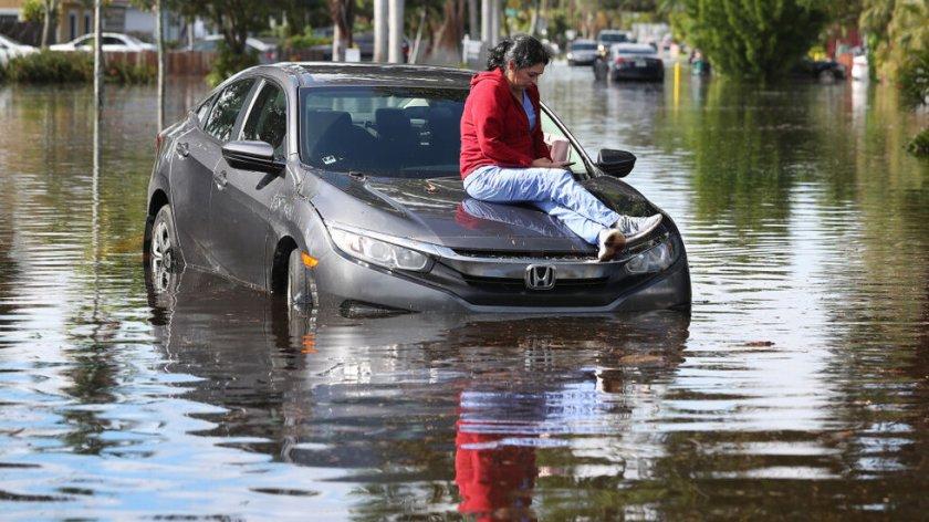 Страховити наводнения в Турция (ВИДЕО)