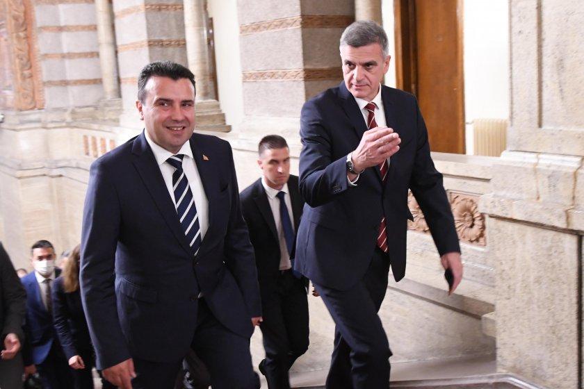 Премиерът прие Зоран Заев