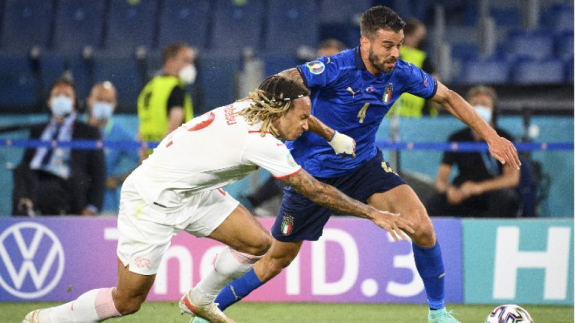 Италианец е най-бързият футболист на европейското