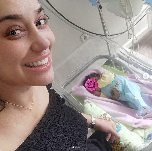 Ето го бебето на Мария Илиева