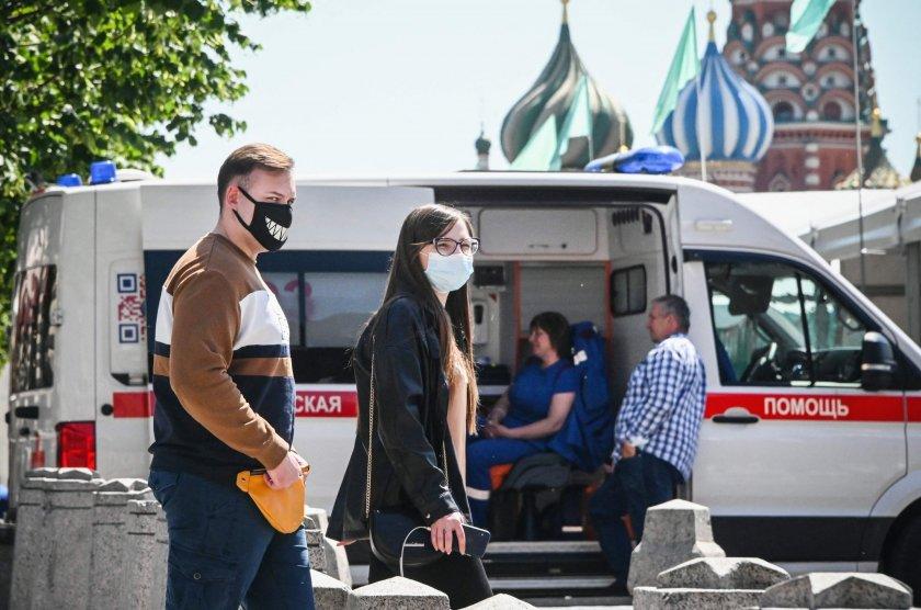 Русия с над 20 000 новозаразени за денонощие