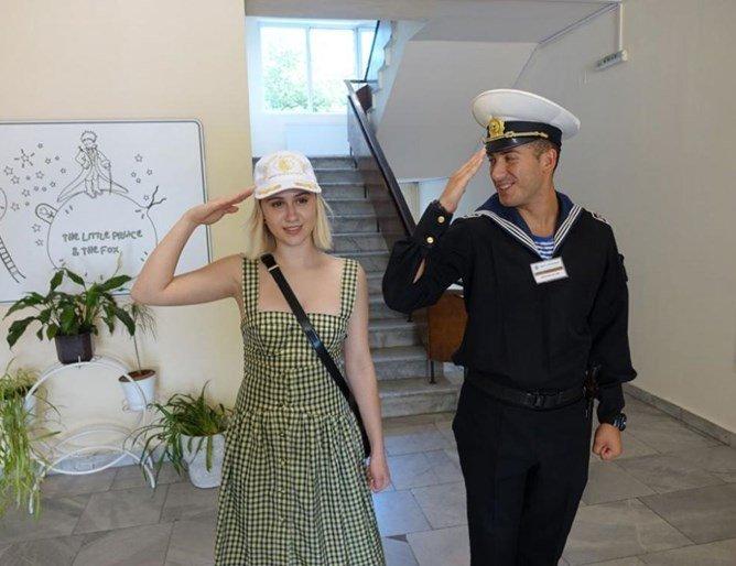 Млади моряци налазиха Мария Бакалова