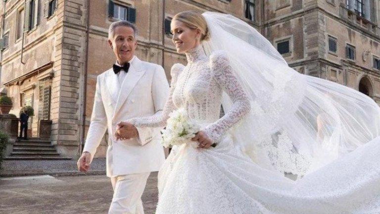 Племенницата на принцеса Даяна се омъжи за дърт милиардер