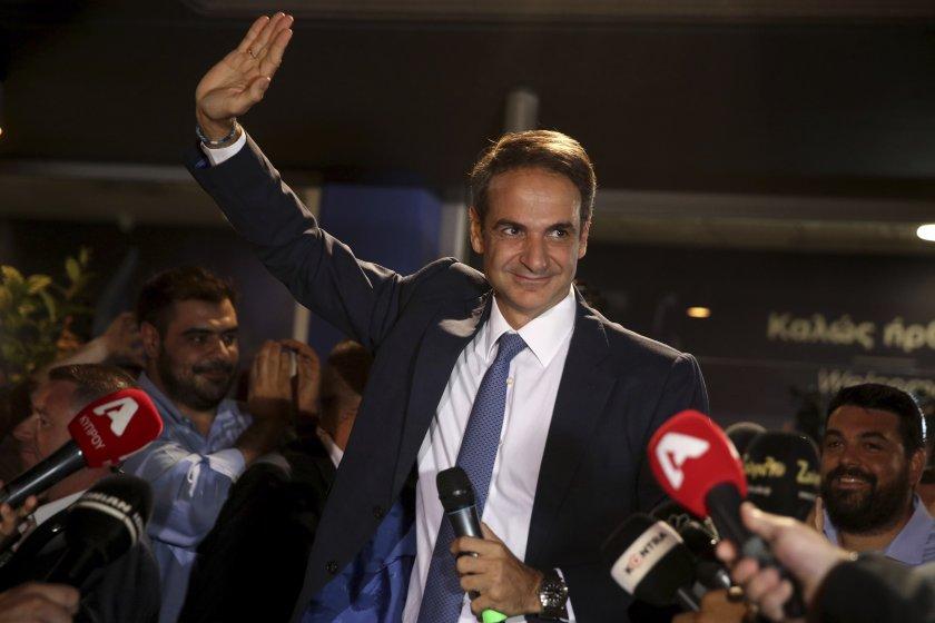 Гръцките медии: Мицотакис ще е всемогъщ премиер