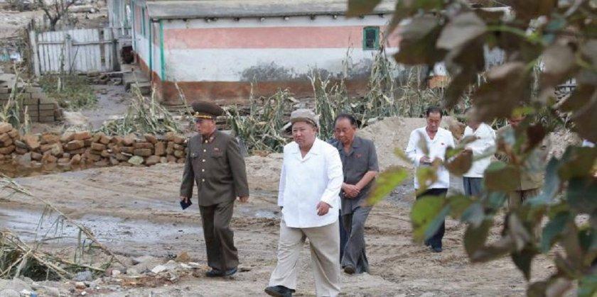 Kим Чeн Ун чака манджа от Джо Байдън