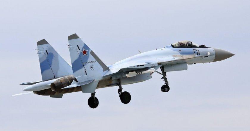 Руски боен самолет се разби при Охотско море