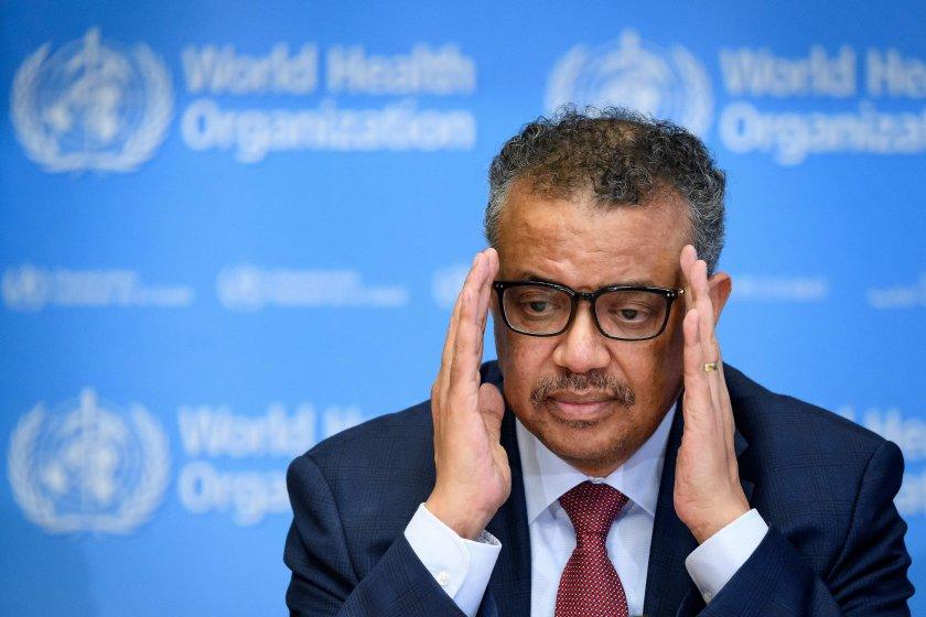СЗО: Смъртността от коронавирус е нараснала с 21%