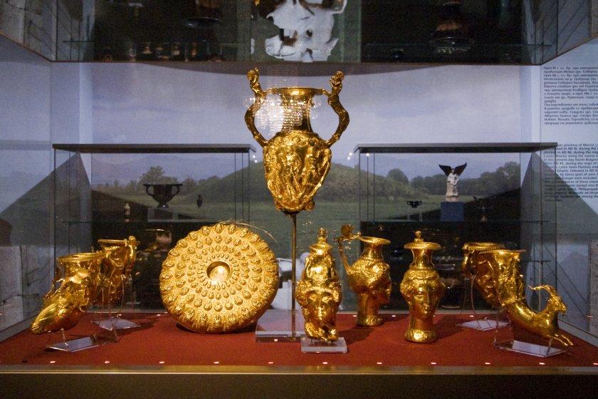 Излагат Панагюрското златно съкровище в Балчик