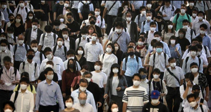 Черен Covid рекорд в Япония – 15 000 заразени за ден