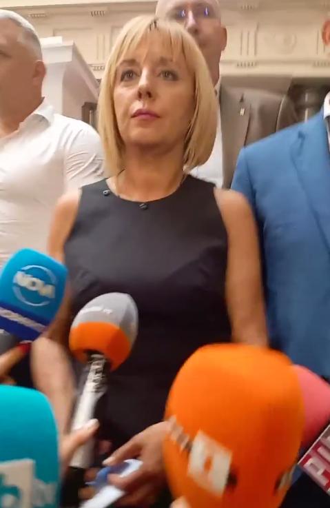 Мая Манолова след срещата с ИТН: Чухме министрите, обсъждаме ги