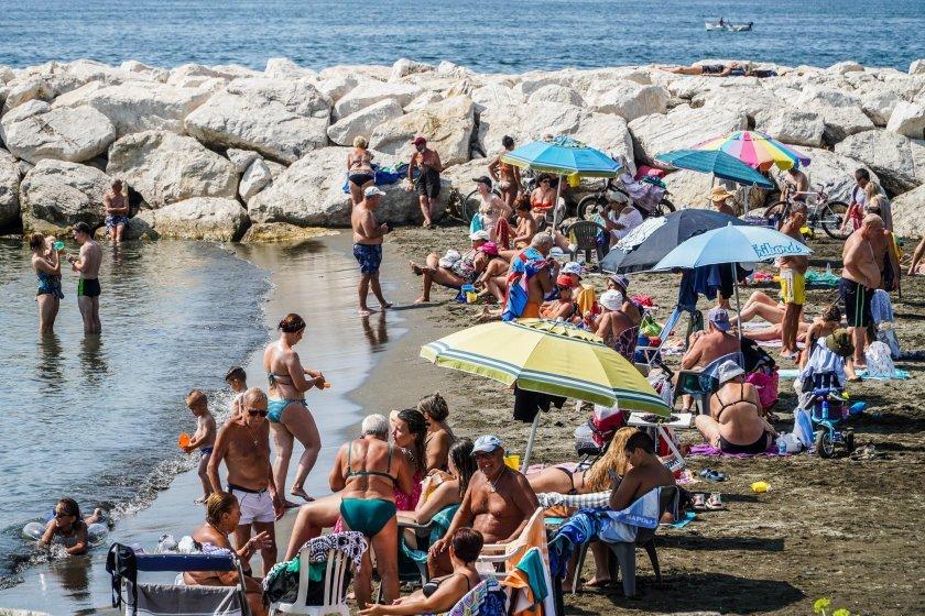 Луцифер съсипа Италия с невиждани жеги (СНИМКИ)