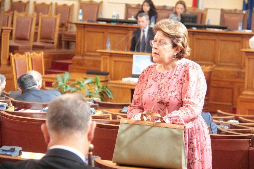 Спецпрокуратурата се самосезира за листчето на Татяна Дончева