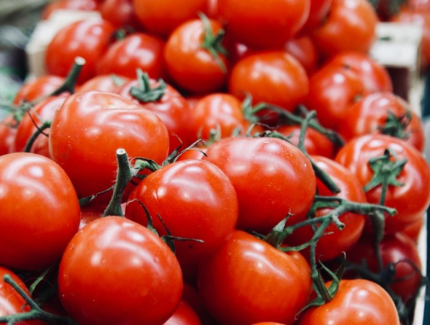 Mъж замеря официалните гости на празника на Берковица с домати