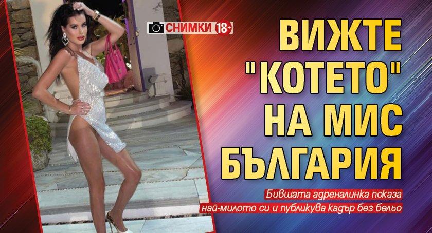 """Само в Lupa.bg: Вижте """"котето"""" на Мис България (СНИМКИ 18+)"""