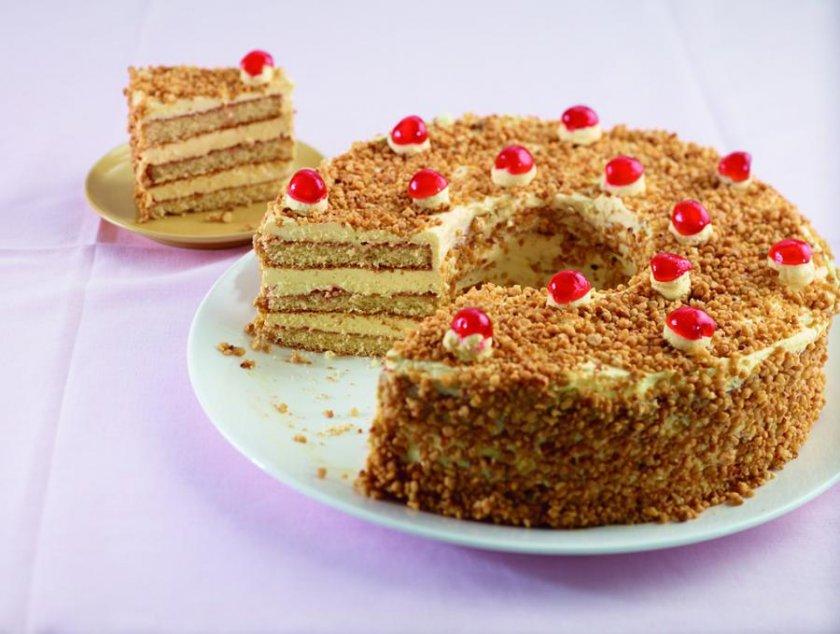 Франкфуртер торта – най-домашният кексов сладкиш (СТЪПКА ПО СТЪПКА)