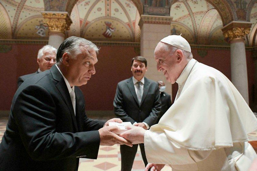 Орбан: Папата ме вдъхнови да отстоявам семейните ценности