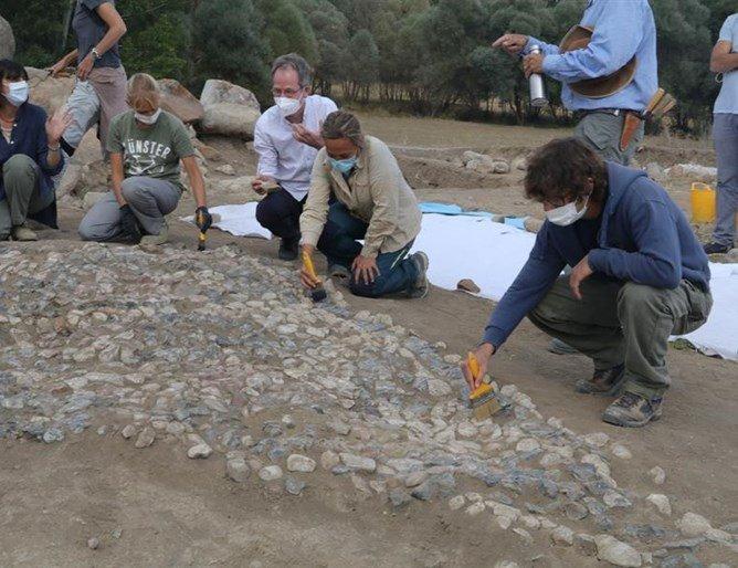 Мозайка на 3,5 хиляди години откриха в Турция