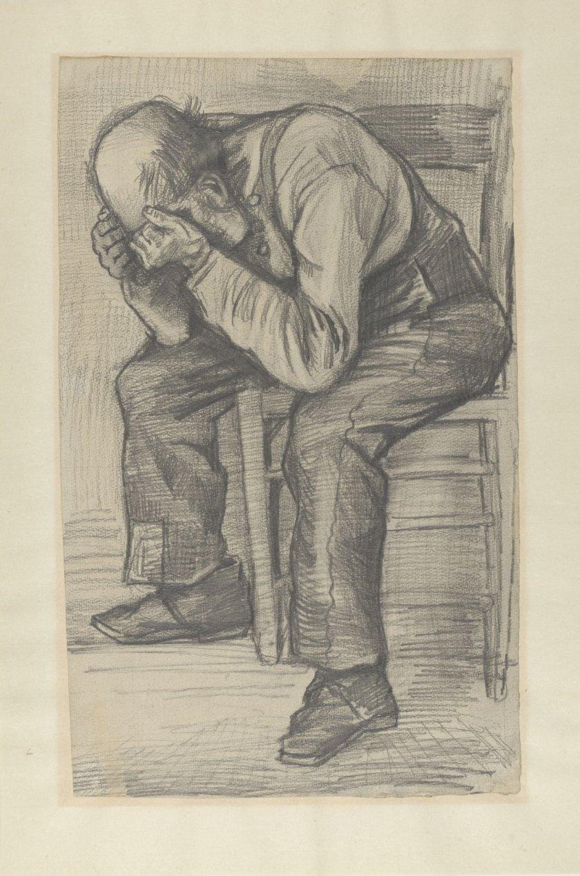 Появи се невиждана рисунка на Ван Гог