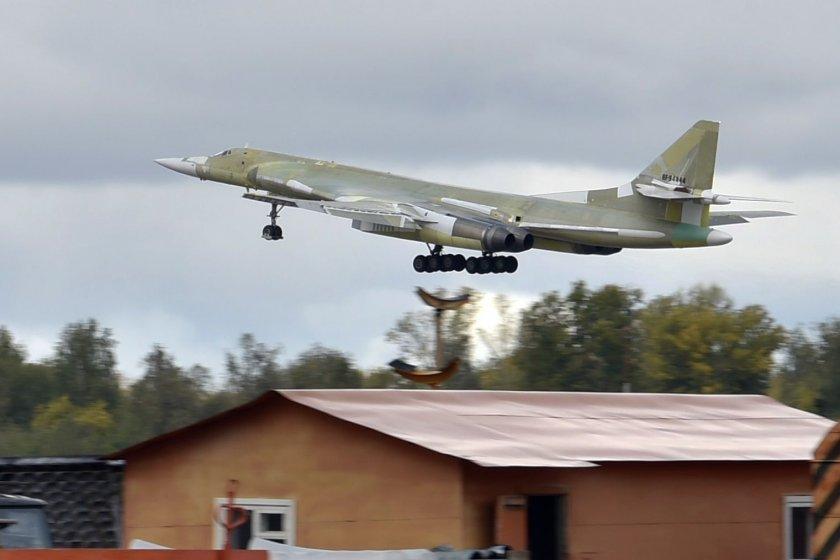 Русия показа легендата Ту-160М (ВИДЕО)