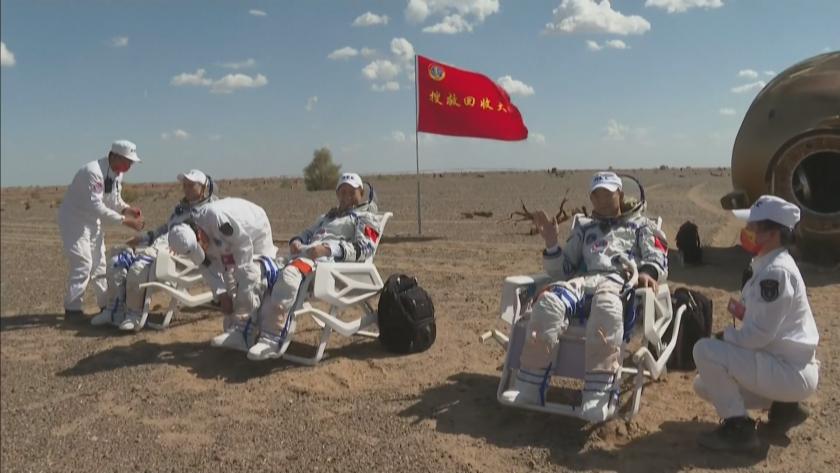 Китайска орбитална мисия се приземи в Гоби