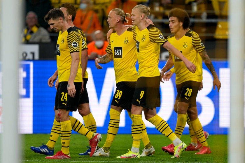Борусия Дортмунд инкасира два гола, но наниза четири във вратата на Унион Берлин