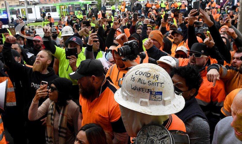 В Мелбърн протестират против ковид ограниченията